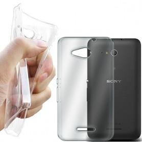 Sony Xperia E4G -silikonin on oltava läpinäkyvää