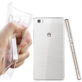 Huawei Ascend P8 Lite silikon må være gjennomsiktig