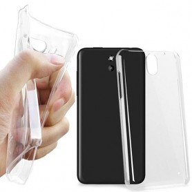 HTC Desire 610 silikon skal transparent