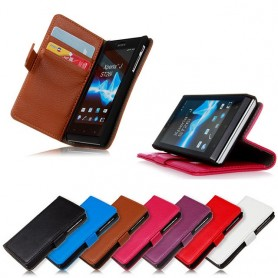 Mobilplånbok Xperia J