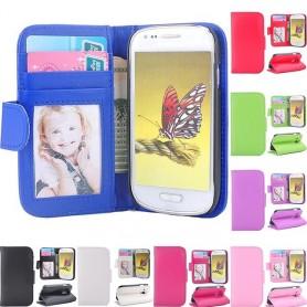 Mobilplånbok Galaxy S3 Mini fotoficka