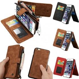 Monikäyttöinen lompakko 14-kortti iPhone 6 Plus