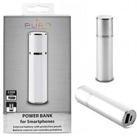 Puro Power Bank 2200mAh - Silver
