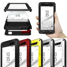 LOVE MER Powerful Sony Xperia Z5 Compact mobiltelefonbeskyttelsesmetall