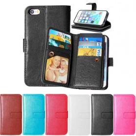 Dobbelt flip 8 + 3 silikon iPhone 5, 5S