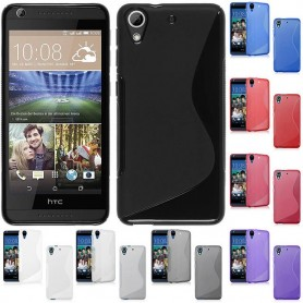S Line silikon skal HTC Desire 626