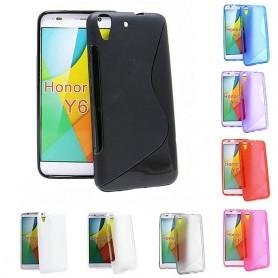 S Line silikonikuori Huawei Y6
