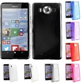 S Line silikonskall MS Lumia 950