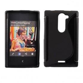 S Line -silikonikotelo Nokia Asha 502: lle