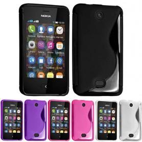 S Line -silikonikotelo Nokia Asha 501: lle