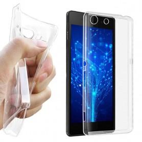 Sony Xperia M5 silikoni läpinäkyvä