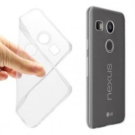 LG Nexus 5X silikon gjennomsiktig