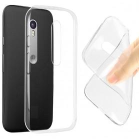 Motorola Moto G3 silikoni läpinäkyvä