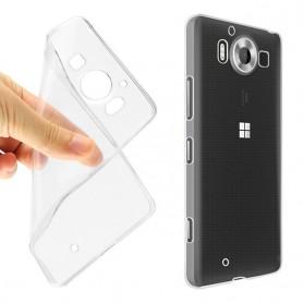 Microsoft Lumia 950 silikoni läpinäkyvä