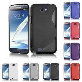 S Line silikon skal Galaxy Note 2