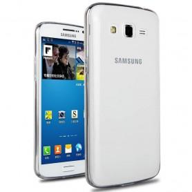 Galaxy Grand 2 silikon gjennomsiktig