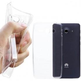 Huawei Ascend Y530 Silikoni Läpinäkyvä