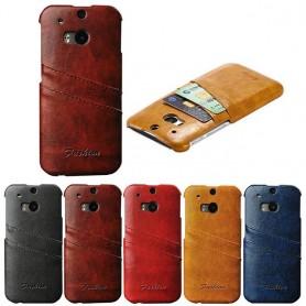 Retro skal med kortplatser HTC ONE M8