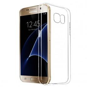 Galaxy S7 silikon trenger gjennomsiktig