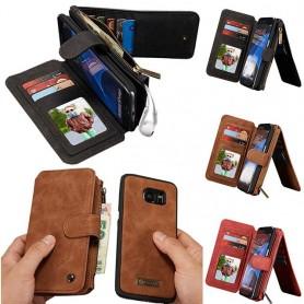 Multi-lommebok 14-kort S7 Edge
