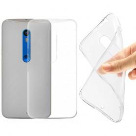 Motorola Moto X Style silikoni läpinäkyvä