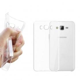 Galaxy J5 2016  Silikon skal Transparent