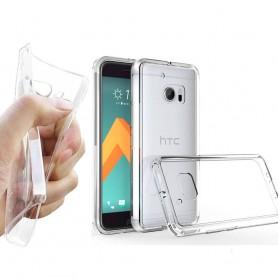 HTC ONE M!0 Silikon skal Transparent