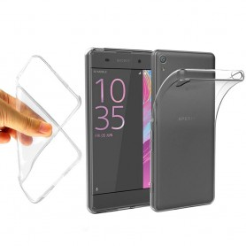 Sony Xperia X Silikon skal Transparent