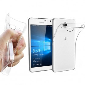 Microsoft Lumia 650 Silikon skal Transparent
