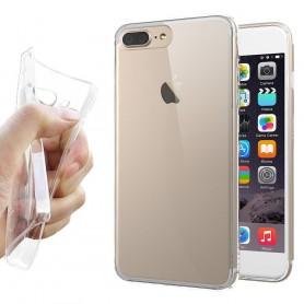 Apple iPhone 7 Plus / 8 Plus Silikonetui Gjennomsiktig mobilskall