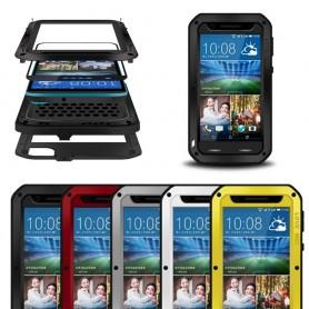 LOVE MEI Powerful HTC Desire 820 mobilskal skydd lifeproof