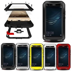 LOVE MEI Powerful Huawei P9 Plus mobilskal metall