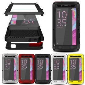LOVE MORE Powerful Sony Xperia X Perfromance -puhelimen kannettava metalli