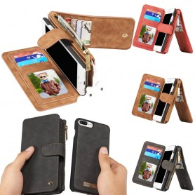 Multiplånbok 14 kort iPhone 7 Plus / 8 Plus mobilskal