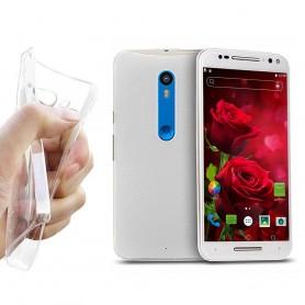 Motorola Moto X Play Silikon Gjennomsiktig