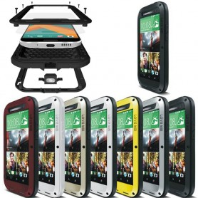 LOVE MEI Powerful HTC ONE M8 mobilskal skydd