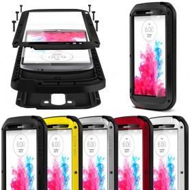 LOVE MER Powerful LG G3 mobil skallmetall