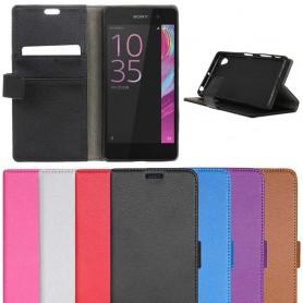 Mobilplånbok Sony Xperia E5