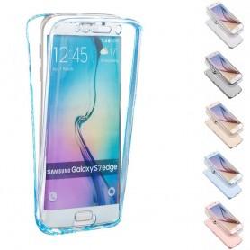 360 heltäckande silikon skal Galaxy S6 Edge