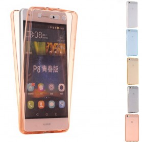 360 heltäckande silikon skal Huawei P8