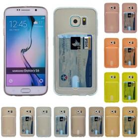 Silikonikuori, jossa Galaxy S6