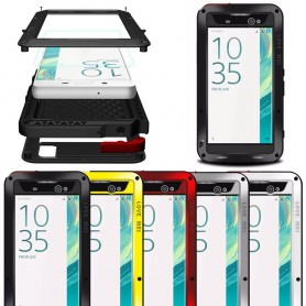 LOVE MEI Powerful Sony Xperia XA Ultra metall mobilskal