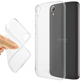 HTC Desire 828 Silikon skal Transparent