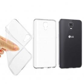 LG X Screen Silikon skal Transparent