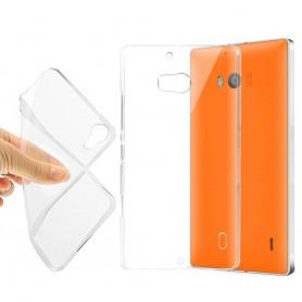 MS Lumia 929/930 Silikon skal Transparent