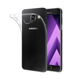 Galaxy A5 2017 Silikon skal Transparent