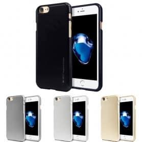 Mercury i Jelly Metal skal iPhone 7 / 8 mobilskal skydd