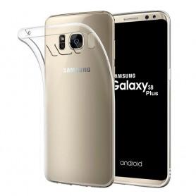 Samsung Galaxy S8 Plus silikon skal transparent