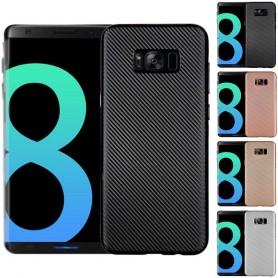 Carbon Fibre skal Samsung Galaxy S8 Plus
