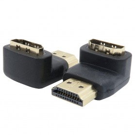 HDMI En 90-graders mand-hun